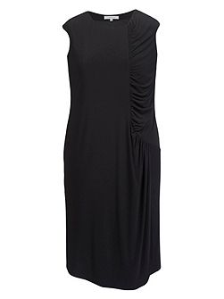 Plus Size Ruched detail jersey dress