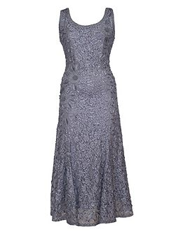 Cornelli Embroidered Lace Dress