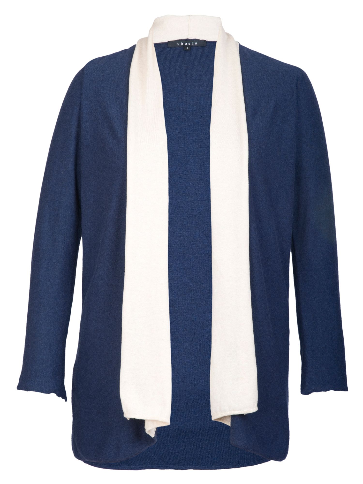Border Stripe Cardigan
