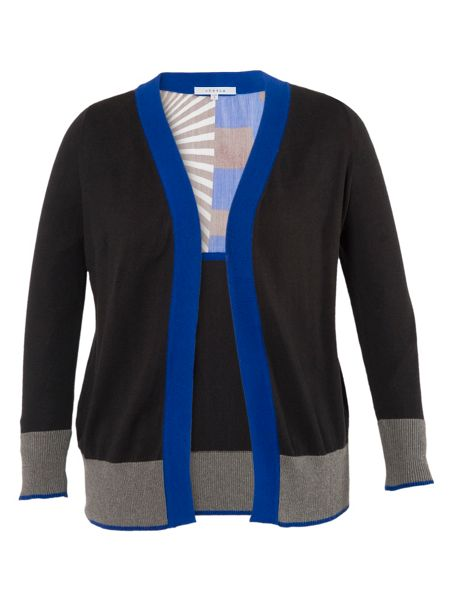 Chesca Sunray yoke cardigan