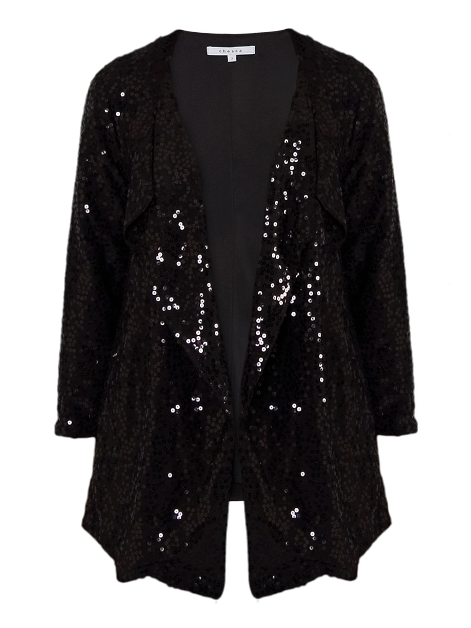 Sequinned jacket
