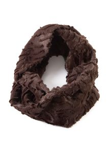 Chesca Soft faux fur snood