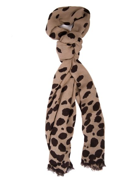 Chesca Spotted scarf