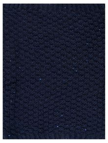 Sapphire knitted sequins snood