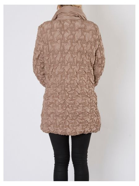 Chesca Bonfire Coat with Concealed Hood