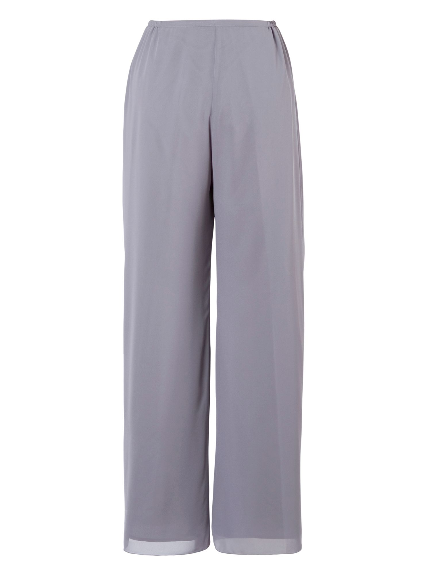 Chiffon Trouser With Spaghetti Belt Trim