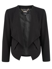 Montique Black Soft Suiting Jacket