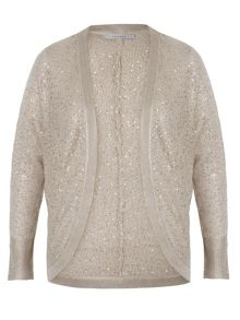 Sequin Knitted Shrug