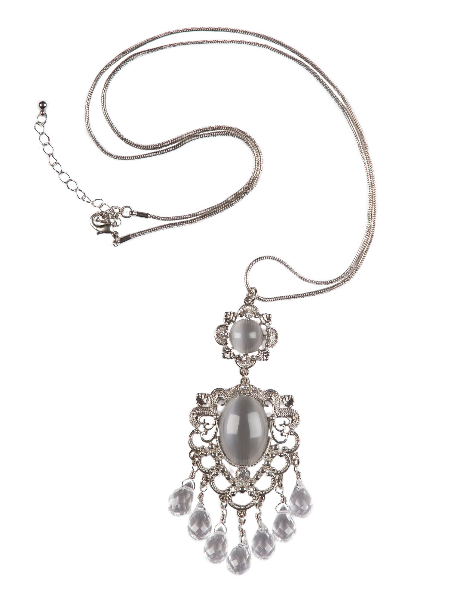 Jewelled Long Necklace