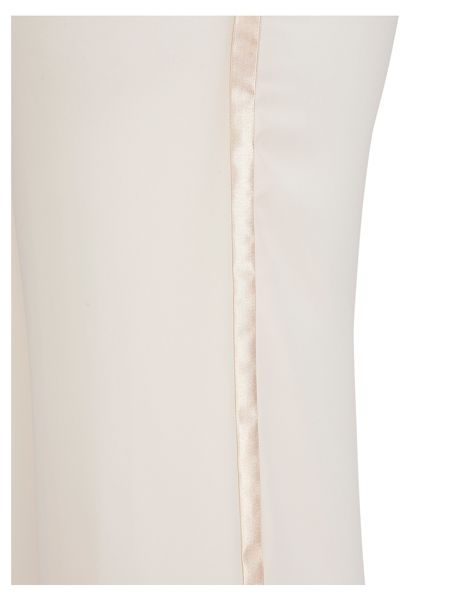Chesca Satin Trim Chiffon Trouser