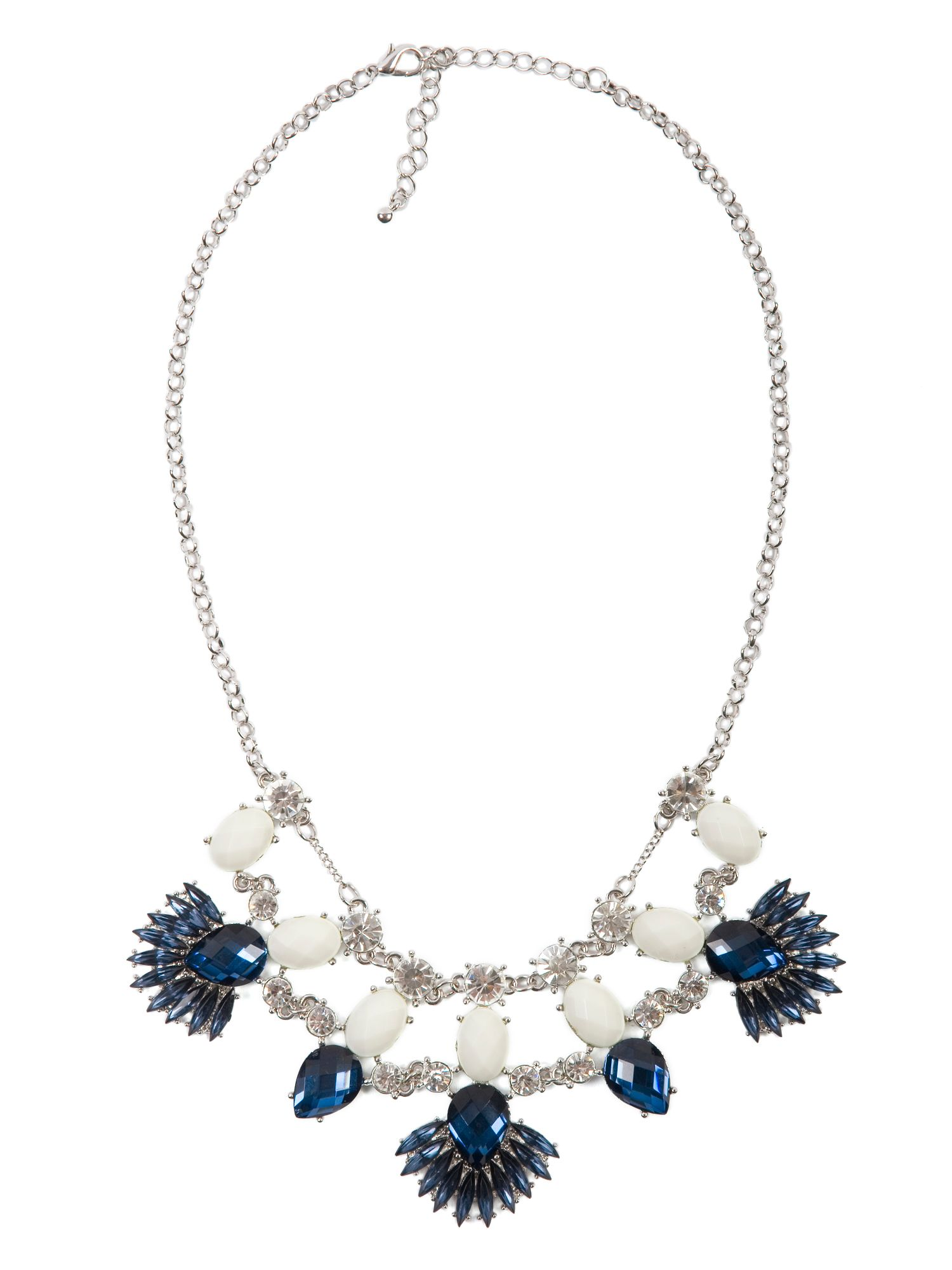 Vintage Style Jewelled Necklace