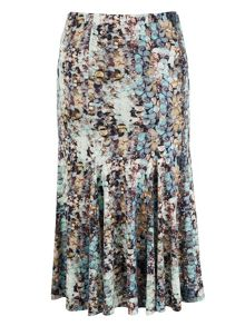 Chesca Sequin Print Jersey Skirt