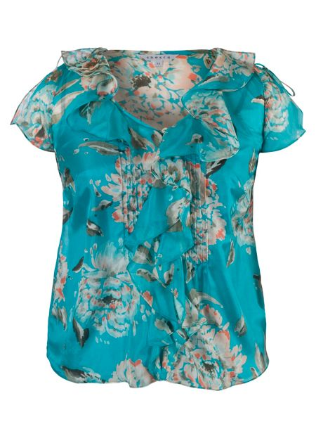Chesca Floral Print Top