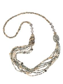 Chesca Multi Beaded Long Necklace