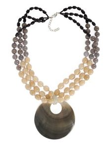Ombre Shell Necklace.