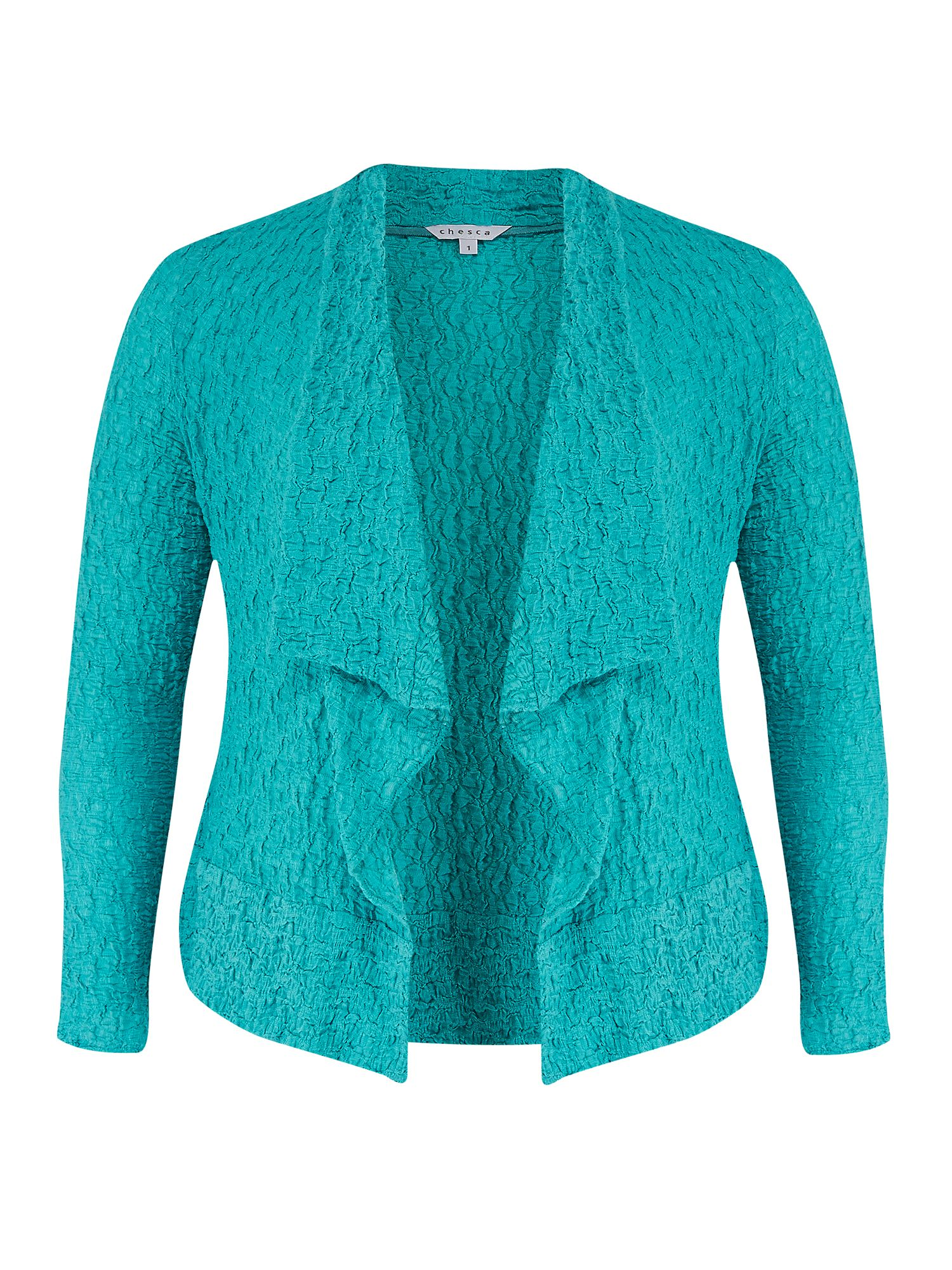 Chesca Bubble Jacket, Turquoise