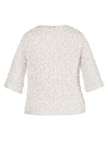 Chesca Satin Cornelli Lace Bolero