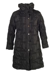 Chesca Quilted Bonfire Coat