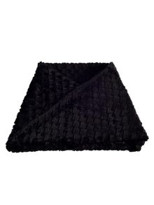 Black Diamond Soft Faux Fur Snood