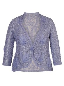 Chesca Lilac Lace Cornelli Jacket