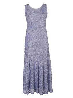 Plus Size Lilac Lace Cornelli Dress