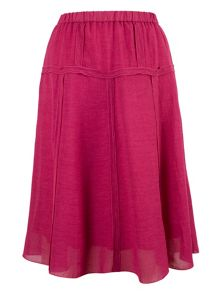 Chesca Tiered Linen Skirt