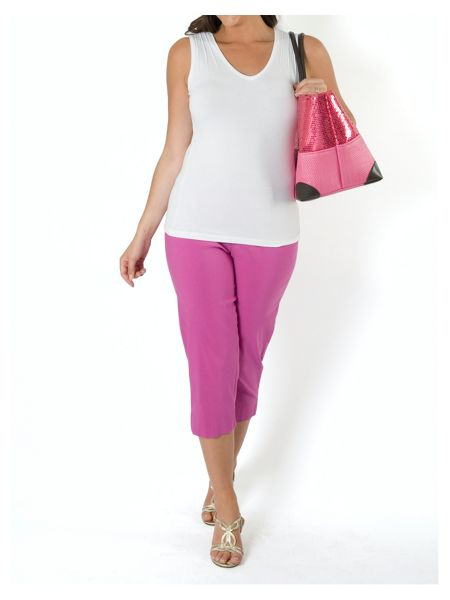 Chesca Stretch Capri Pant