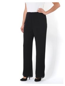 Chiffon Trouser with Jersey Lining