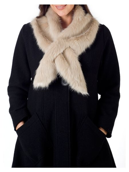 Chesca Fur Collar
