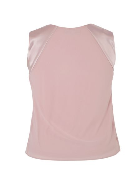 Chesca Satin Back Chiffon Camisole