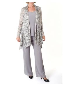 Chesca Stretch Lace Shrug