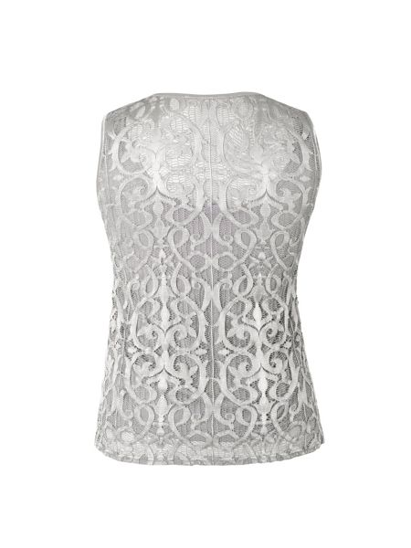 Chesca Stretch Lace Camisole