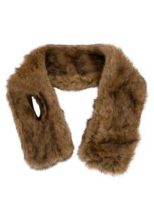 Chesca Fur Slot Through Fur Collar