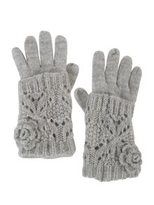 Pointelle Knitted Glove