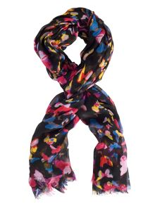 Chesca Butterfly Print Scarf