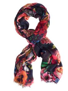 Chesca Flower Print Scarf