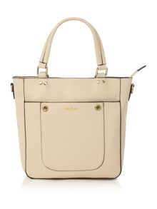 Ollie & Nic Cabana neutral mini tote bag