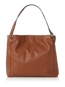 Ollie & Nic Richie tan soft tote bag