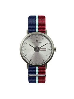 City watch silver & strap