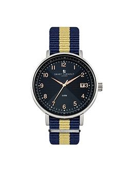 Scholar watch blue strap