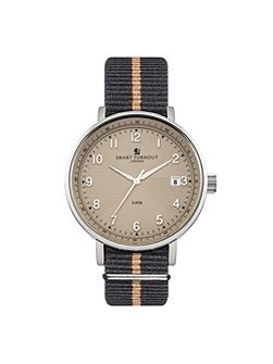Scholar watch beige strap