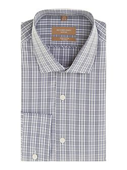 Men's Richard James Mayfair Check Tailored Fit Long