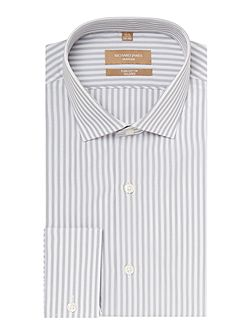 Men's Richard James Mayfair Stripe Tailored Long Sleeve