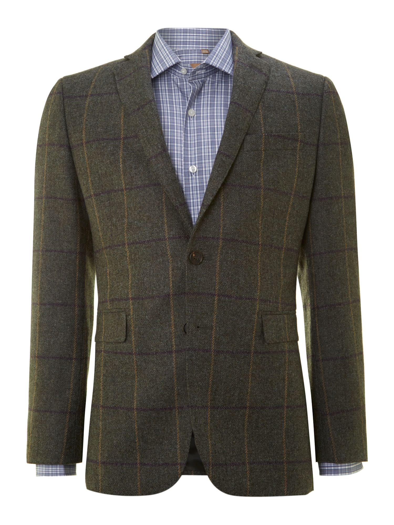 Contemporary check jacket