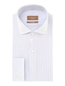 Richard James Mayfair Vigo stripe long sleeve shirt