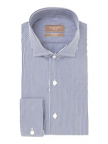 Richard James Mayfair Vigo bengal stripe long sleeve shirt