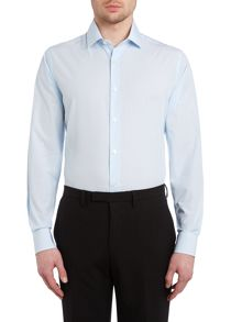 Richard James Mayfair Austin fine stripe long sleeve shirt