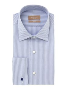 Richard James Mayfair Jermyn mini stripe long sleeve shirt