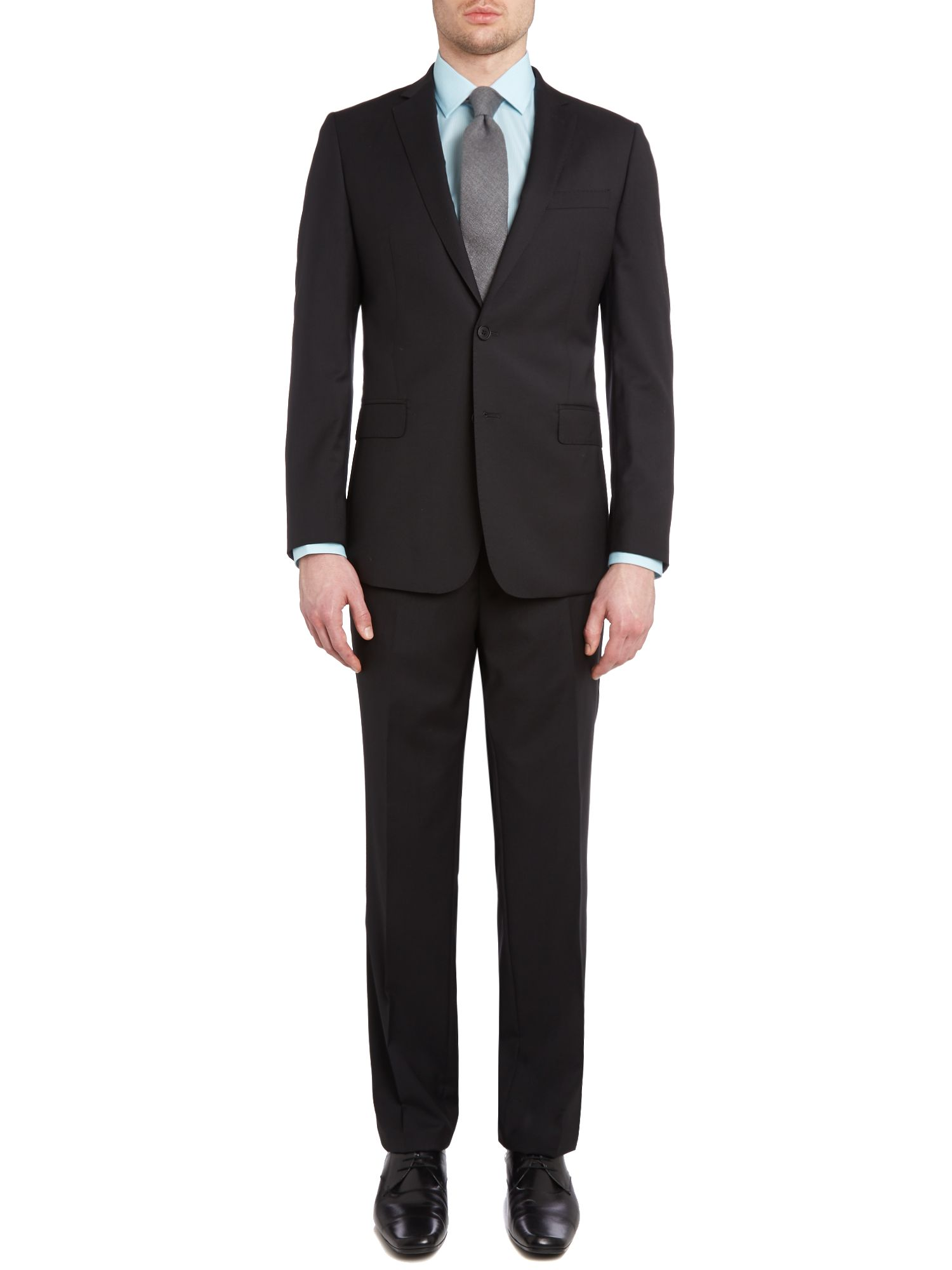 Contemporary plain suit
