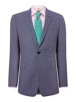 Contemporary birdseye suit